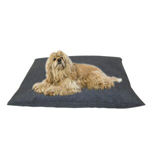 Indoor/Outdoor Shegang Dog Bed in Solid Blue