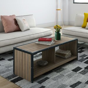Ashland Coffee Table with Magazine Rack by Trent Austin Design
