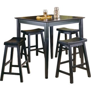 Elizabet Piece Counter Height Pub Set by Red Bar..