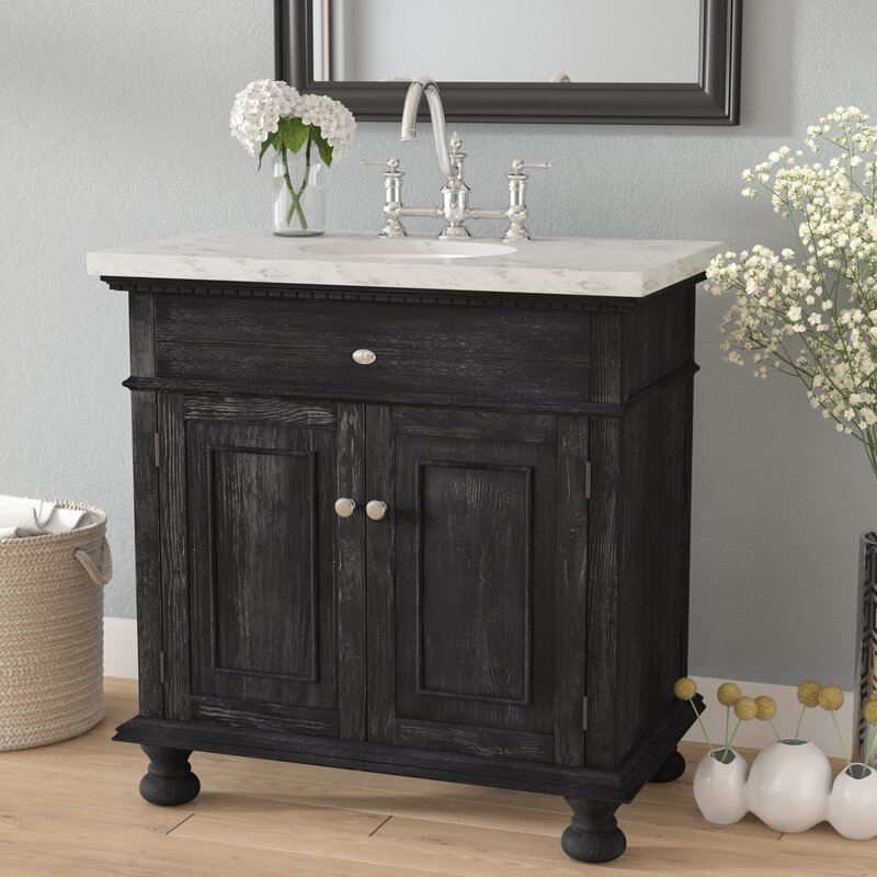 Franklin 48 Single Bathroom Vanity Set Reviews Birch Lane Unique Bathroom Vanitiy