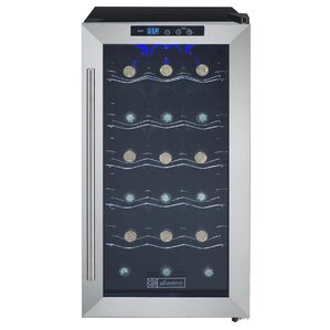 18 Bottle Cascina Series Single Zone Freestanding Wine Cooler by Allavino