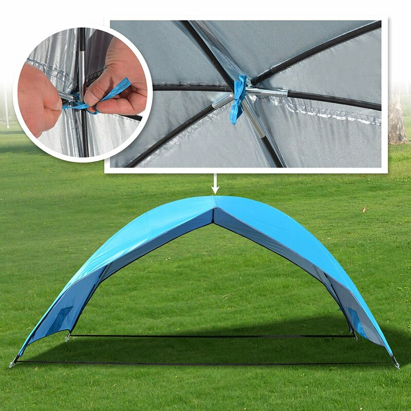 Beach Sun Shade Portable Hiking Travel Camping Outdoor Napping Canopy 2  Person Tent