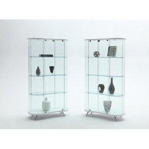 Keri Standard Curio Cabinet by Orren Ellis