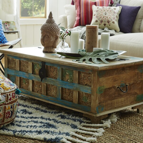 Bungalow Rose Navya Wood Storage Bedroom Bench Reviews: World Menagerie Bodella Storage Coffee Table & Reviews
