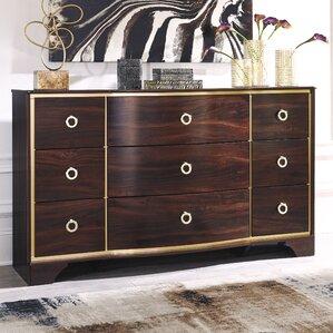 Bevis 9 Drawer Dresser by Willa Arlo Interiors
