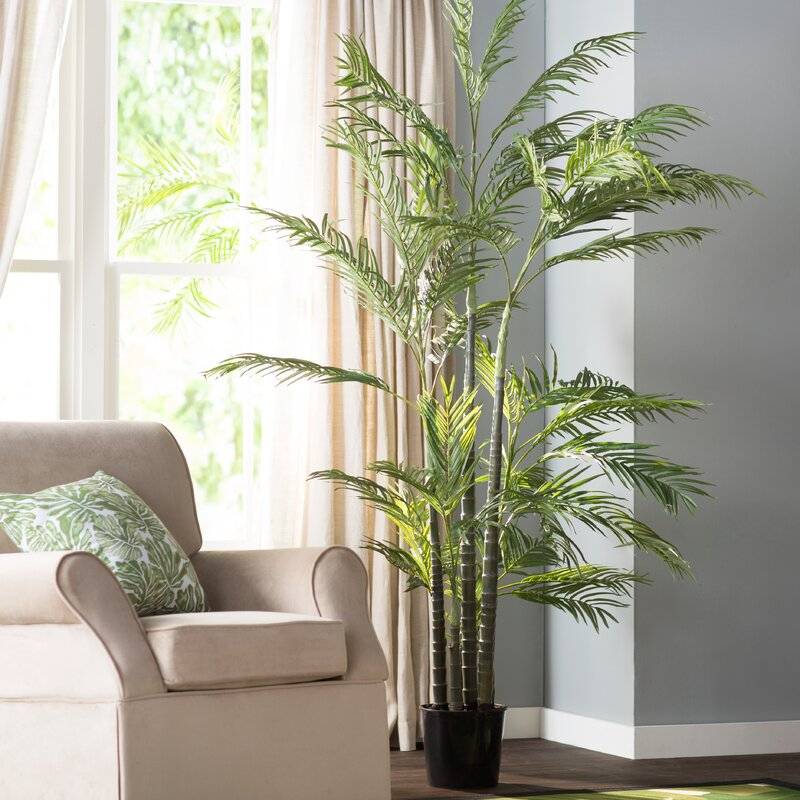 Beachcrest Home Silk Areca Palm Tree In Pot Amp Reviews