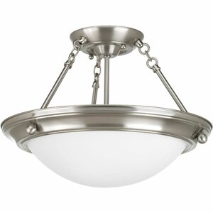 Tod Modern 2-Light Semi-Flush Mount