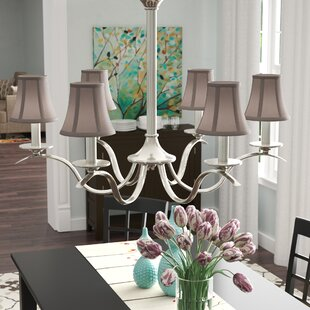Chandelier shades youll love wayfair 5 silk bell candelabra shade set of 6 aloadofball Gallery