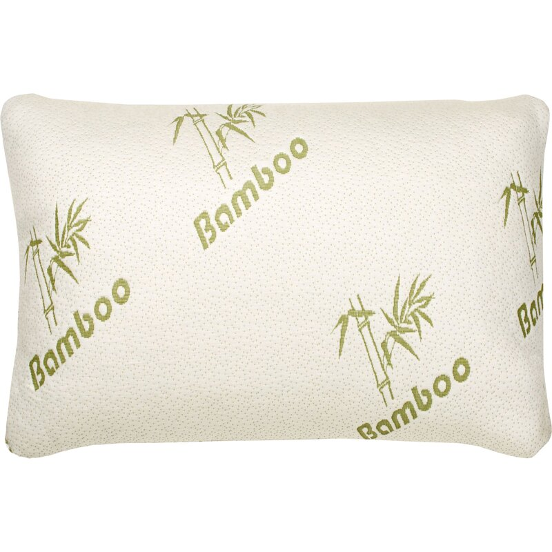 Hypoallergenic Rayon from Bamboo Memory Foam Pillow