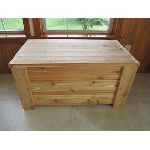 Premium Quality Indoor/Outdoor 36 Gallon Wood Storage Bench