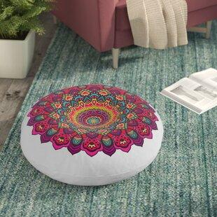 Indoor / Outdoor Round Throw Pillows You\'ll Love | Wayfair