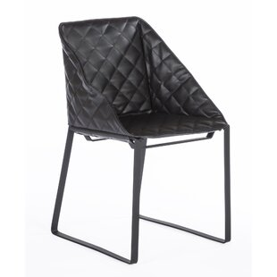 The Bailey Genuine Leather Upholstered Dining Chair