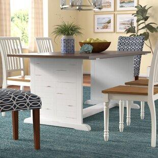 White Washed Oak Dining Table   Wayfair