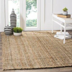 gaines handwoven brown area rug