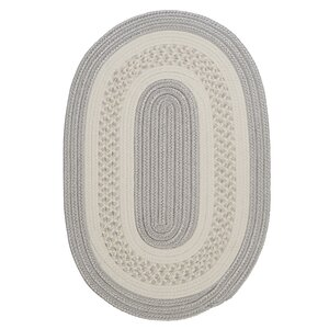 Rockport Silver Indoor/Outdoor Area Rug