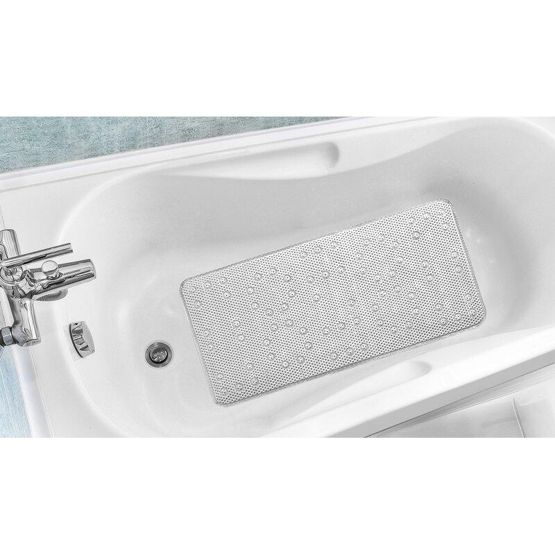 Rebrilliant Antibacterial Cushioned Waffle Non Slip Bath Tub Mat ...