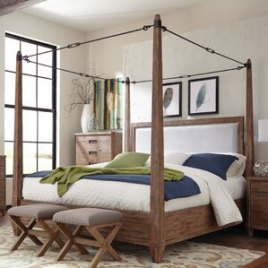 Madeleine Upholstered Canopy Bed
