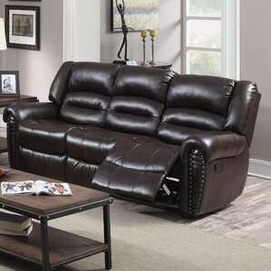 Dover Reclining Loveseat by Darby Home..