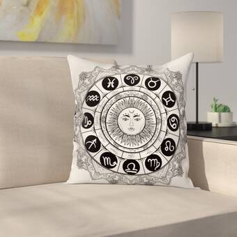 36e82c6b066ad East Urban Home Ancient Turtle Maori Square Pillow Cover   Wayfair