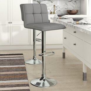 Cuban Height Adjustable Swivel Bar Stool By dCor design