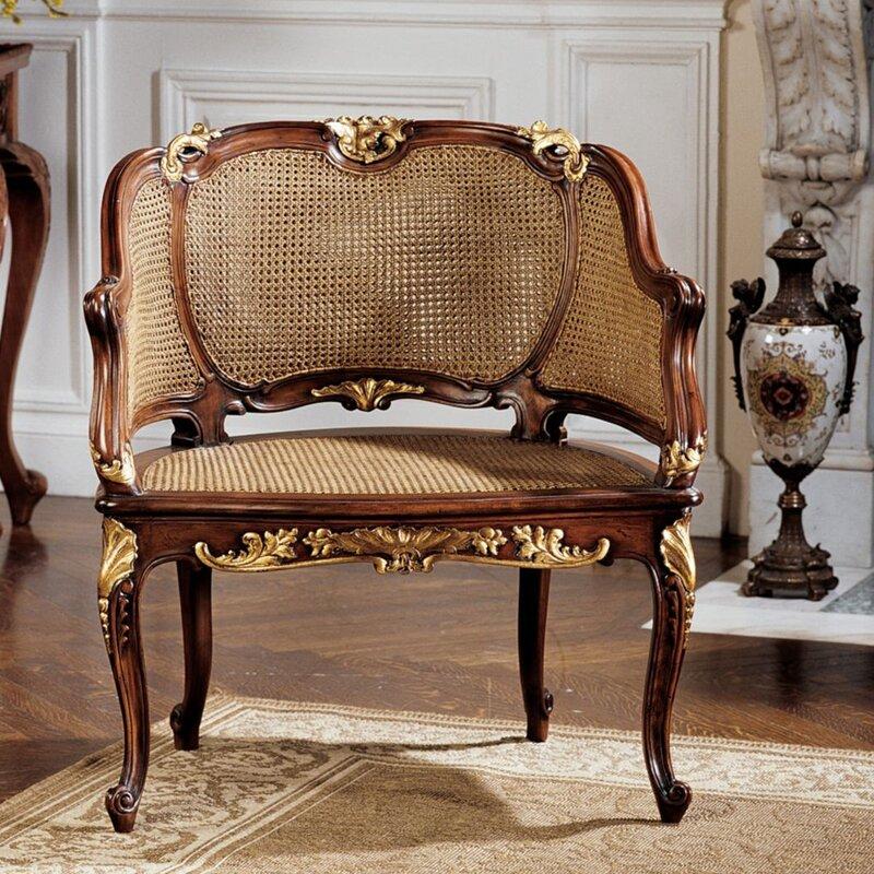 Beau Louis XV French Armchair