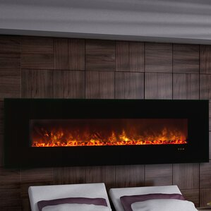 CLX Series Ambiance Custom Linear Delux Wall Mount Electric Fireplace by Modern Flames