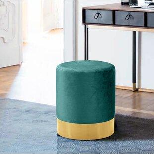 Emerald Green Ottoman | Wayfair