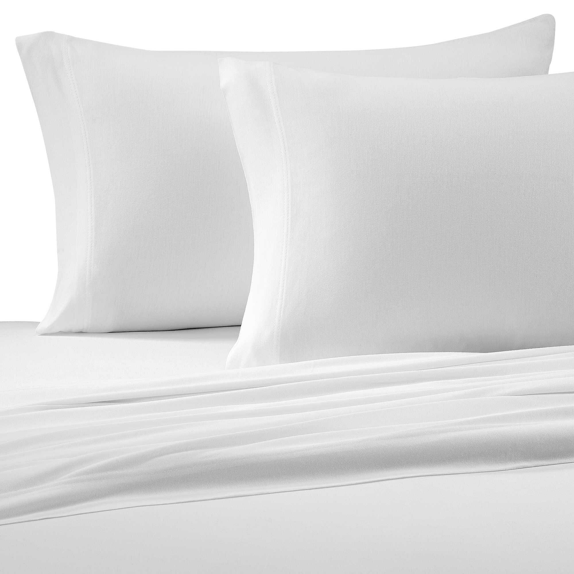 Brielle Jersey Knit 150 Thread Count 100% Cotton Sheet Set U0026 Reviews |  Wayfair