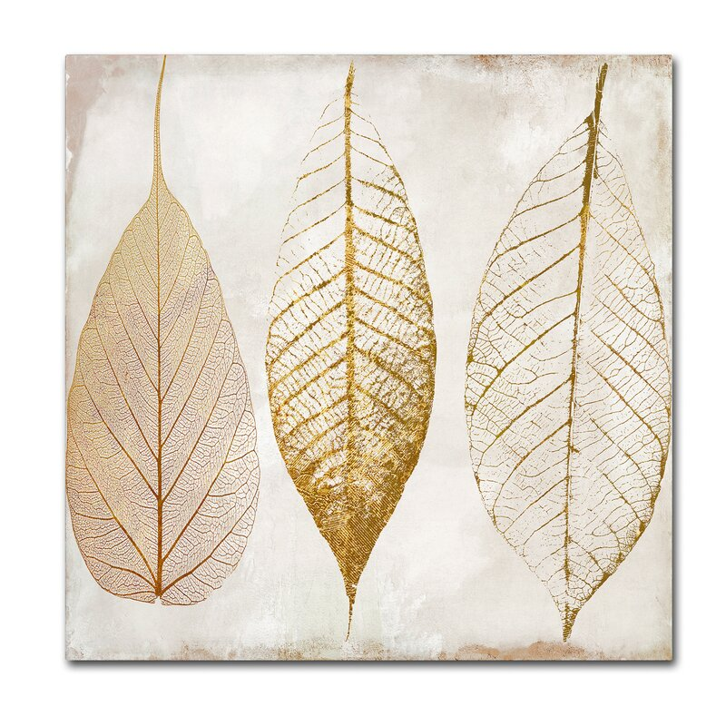Fallen Gold II By Color Bakery Painting Print On Wrapped Canvas