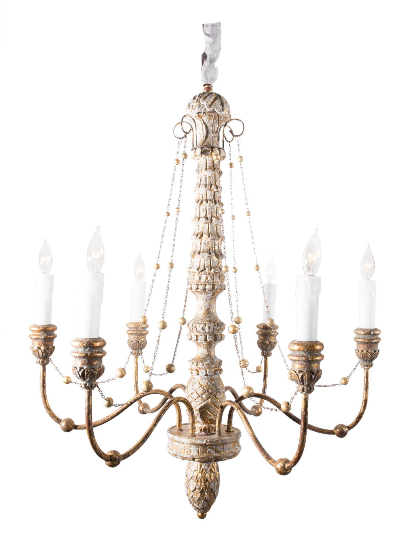 Aidan Gray Lena 6 Light Candle Style Chandelier & Reviews