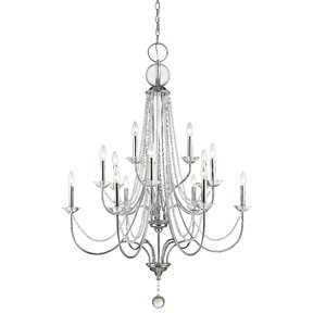 Serenade 15-Light Crystal Chandelier