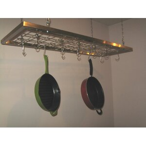 Buy Putumayo Ceiling Mount Pot Hanger and Shelf!