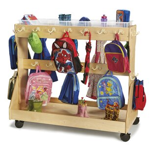 Superbe Backpack Double Sided 2 Compartments Cubby With Trays