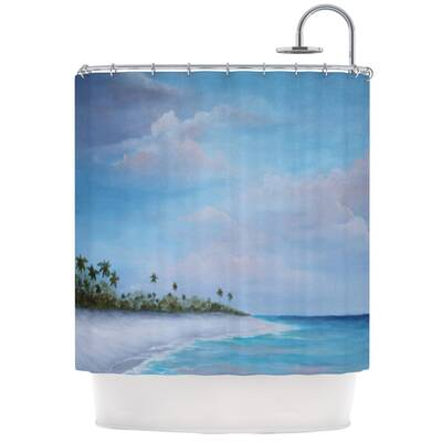 Carefree Caribbean Shower Curtain