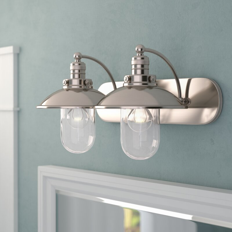 Dining Room Lighting Emory Collection Emory 3 Light: Beachcrest Home Emory 2-Light Vanity Light & Reviews