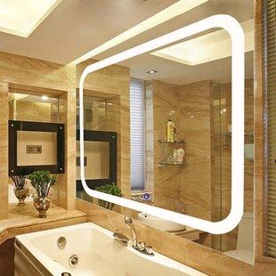 Led Lighted Vanity Wall Mirror Wayfair