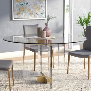 d9a0dcb0487d Gosta Round Glass Dining Table