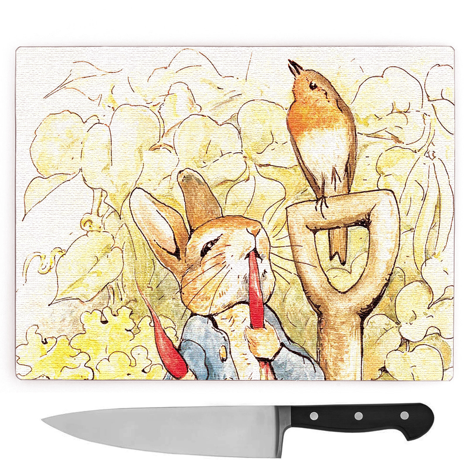 Big Box Art Beatrix Potter Peter Rabbit Large Chopping Board ...