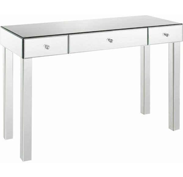 monarch diy mirror table with splurge specialties vanity furniture drawers desk glam console mirrored sofa home
