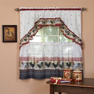 Well-known Rooster Valances & Kitchen Curtains | Wayfair PS88