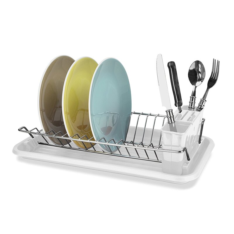 059e0bc57b6f Sweet Home Collection Compact Dish Rack & Reviews | Wayfair.ca