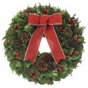 Cabin Life III 18'' Wreath