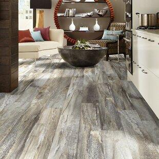 Vinyl flooring youll love wayfair elemental supreme 6 x 36 x 4mm luxury vinyl plank in five spice by shaw floors ppazfo
