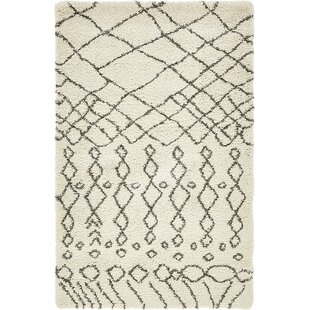 Bourne Machine Woven Ivory Area Rug