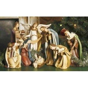 Nativity scenes sets youll love wayfair resin nativity scene solutioingenieria Gallery