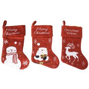 3fe2aaaa6ea Snowman   Snowflake Stockings You ll Love