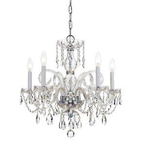 Caledonian 5-Light Crystal Chandelier