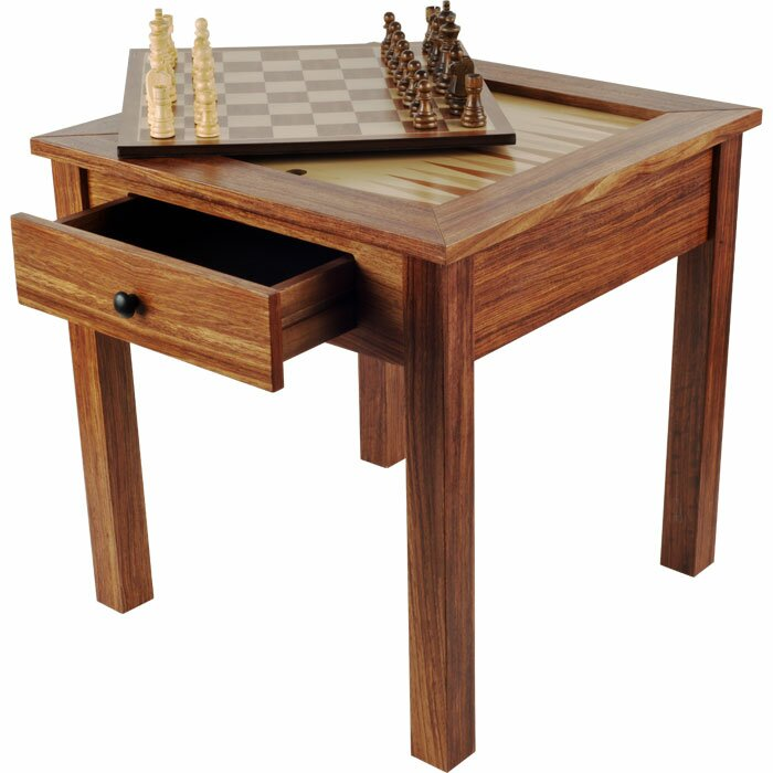 Chess U0026 Games Wood 3 In 1 Multi Game Table