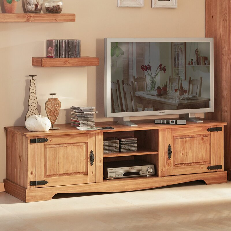 henke collection tv schrank mexican antik f r tvs bis zu. Black Bedroom Furniture Sets. Home Design Ideas