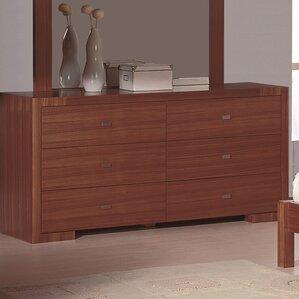 Bruges 6 Drawer Double Dresser by Zipcode Design